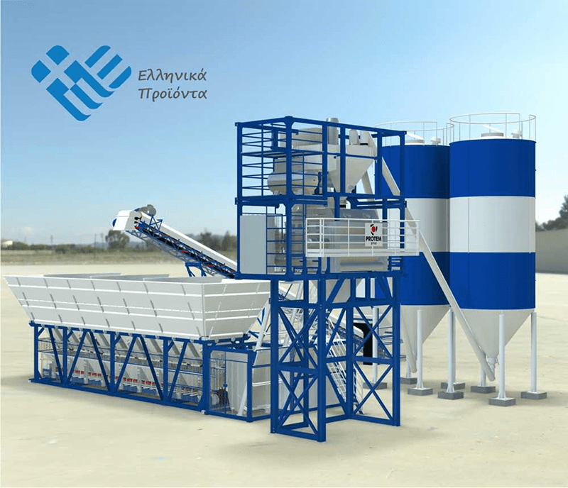 Containerized-Type-Concrete-Batching-Plants